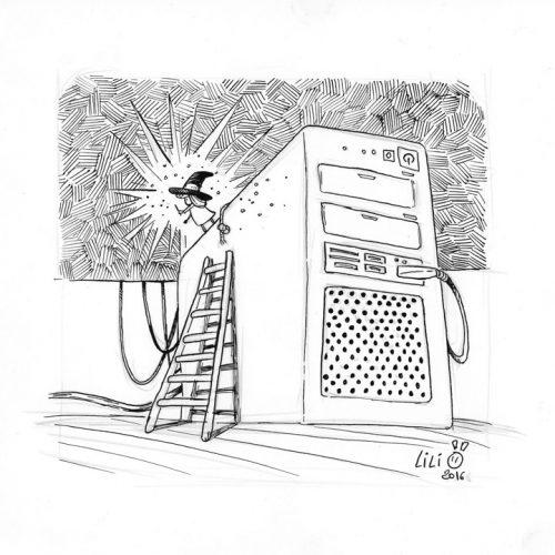 La magie de l'informatique...