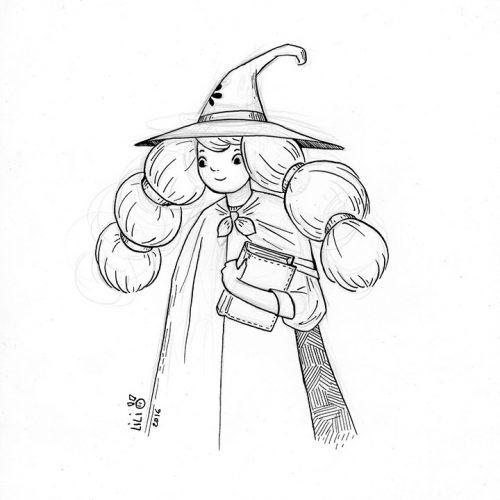 Etudiante en magie théorique...