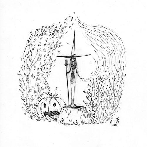 Sorcière d'automne...
